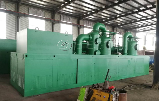 Beston Pyrolysis Machines Were Shipped to the Philippines